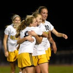 District 3 girls soccer: Elco survives wind, Hershey in opener