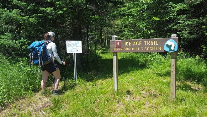 The Harrison Hills segment of the Ice Age Trail in Lincoln County is a good spot for backpacking.