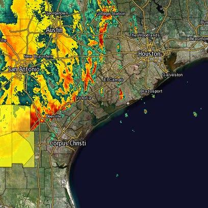 Radar as of 4 a.m.