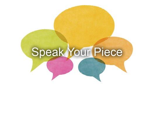 #stockphoto - speak your piece