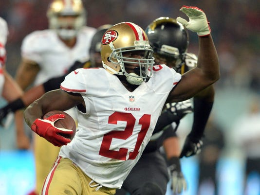 official photos 9e6a9 1c627 49ers' Frank Gore closing in on 10,000-yard milestone