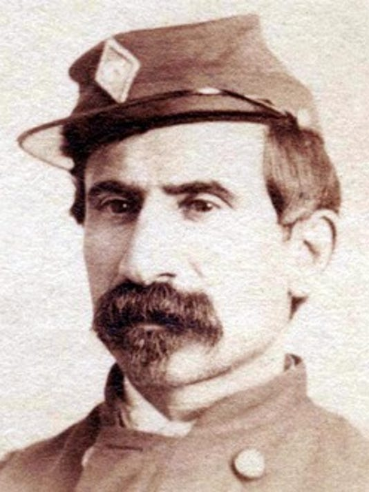 Lt. Col. James A. Stahle, 87th Regiment, Pennsylvania Volunteers (author's collection)