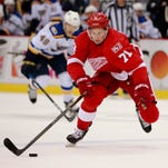 Detroit Red Wings' Dylan Larkin seeking ways out of sophomore slump