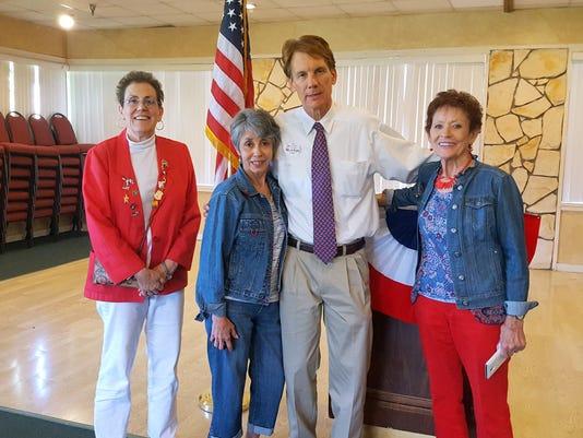 Chris Mathys at federated republican women