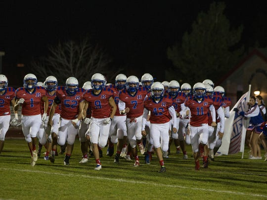 The Reno Huskies take the field last season.