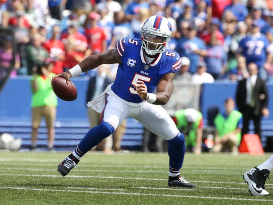 Tyrod Taylor knows the feeling of going back to play