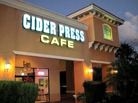 Cider Press Cafe closed this summer in Pipers Crossing retail center on Immokalee Road in North Naples.