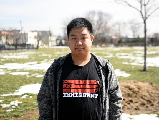 Tony Choi of Bergen County, NJ, identifies as a progressive and did not vote in the 2016 presidential election.