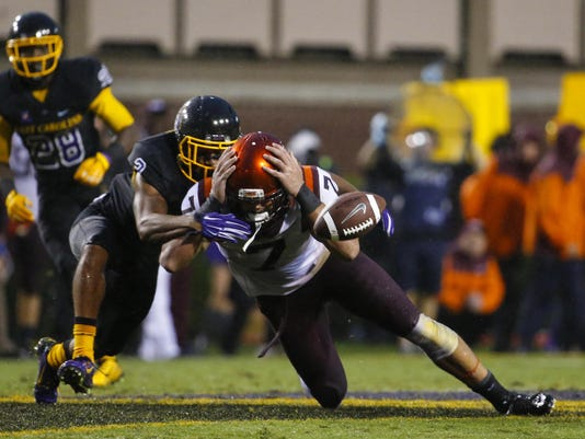 NCAA Football: Virginia Tech at East Carolina