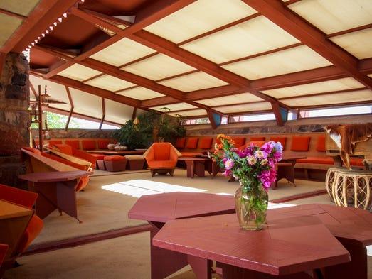 The Garden Room at Taliesin West