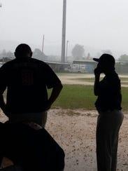 A flooded Francisco-Palacios field canceled the Asia