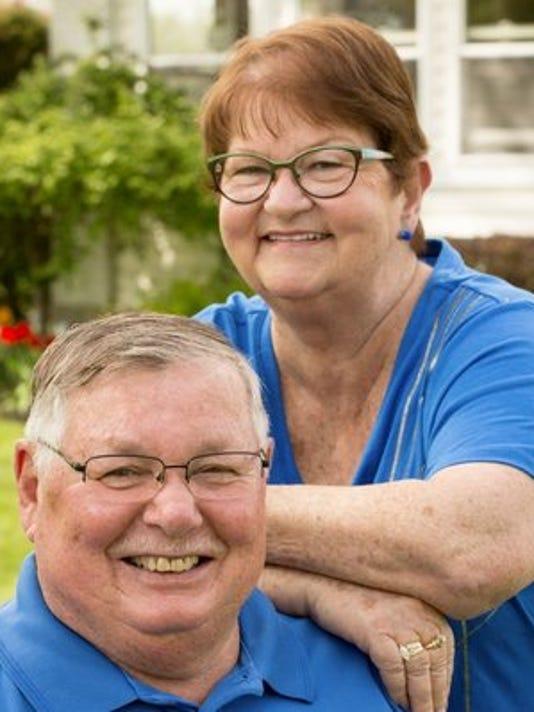 Anniversaries: Frank Thompson & Peggy Thompson
