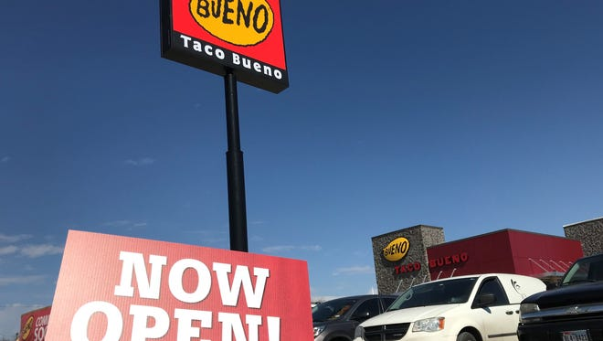 Taco Bueno, 914 N. Bryant Blvd., opens Wednesday, Feb. 7.