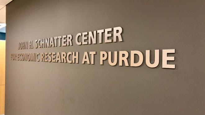 Purdue renamed its Center for Economic Research Center for John Schantter in April, after the founder of Papa John's pizza chain gave the university $8 million.