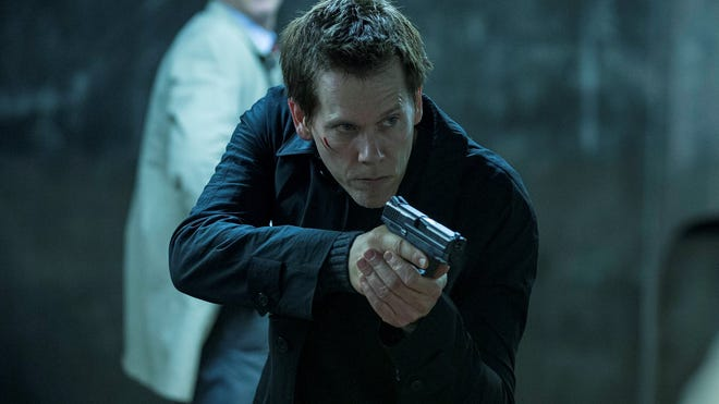 Kevin Bacon stars in the psychological thriller, 'The Following.'