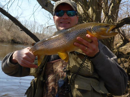 Mild winter may boost vt trout season for Vermont trout fishing