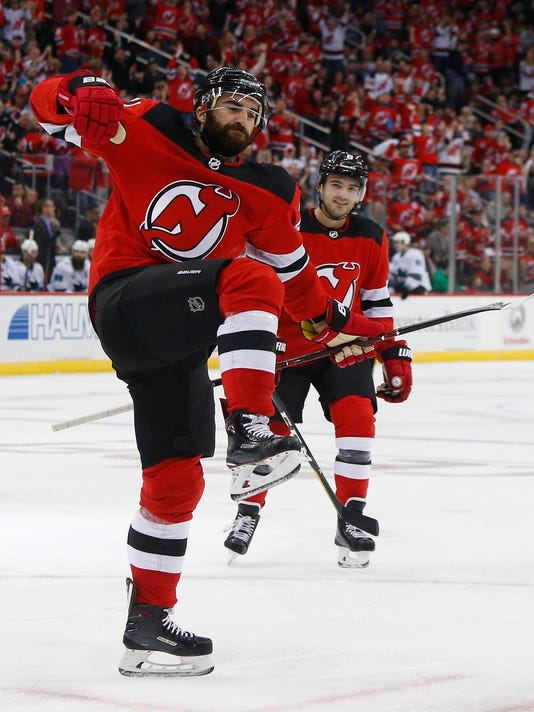 pretty nice 92291 3335a Kyle Palmieri has 3rd straight 2-goal game, Devils win