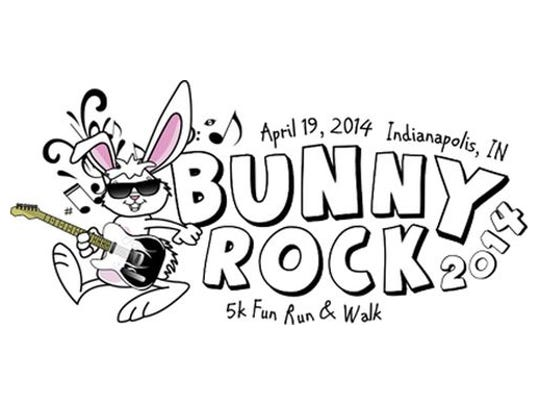 Participants in the Bunny Rock 5K Fun Run & Walk get sunglasses, bunny ears and a T-shirt. There is also an egg hunt for the little ones.