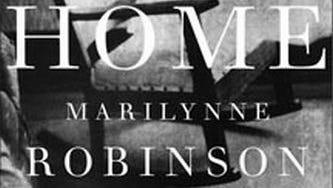 "Cover of UI professor Marilynne Robinson's third novel, ""Home."""