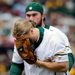 No long-term impact from Clay Matthews' injury in Packers' charity softball game