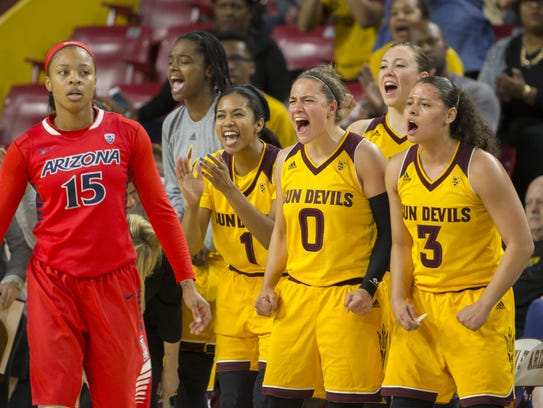 The ASU women's basketball team is tied for its highest