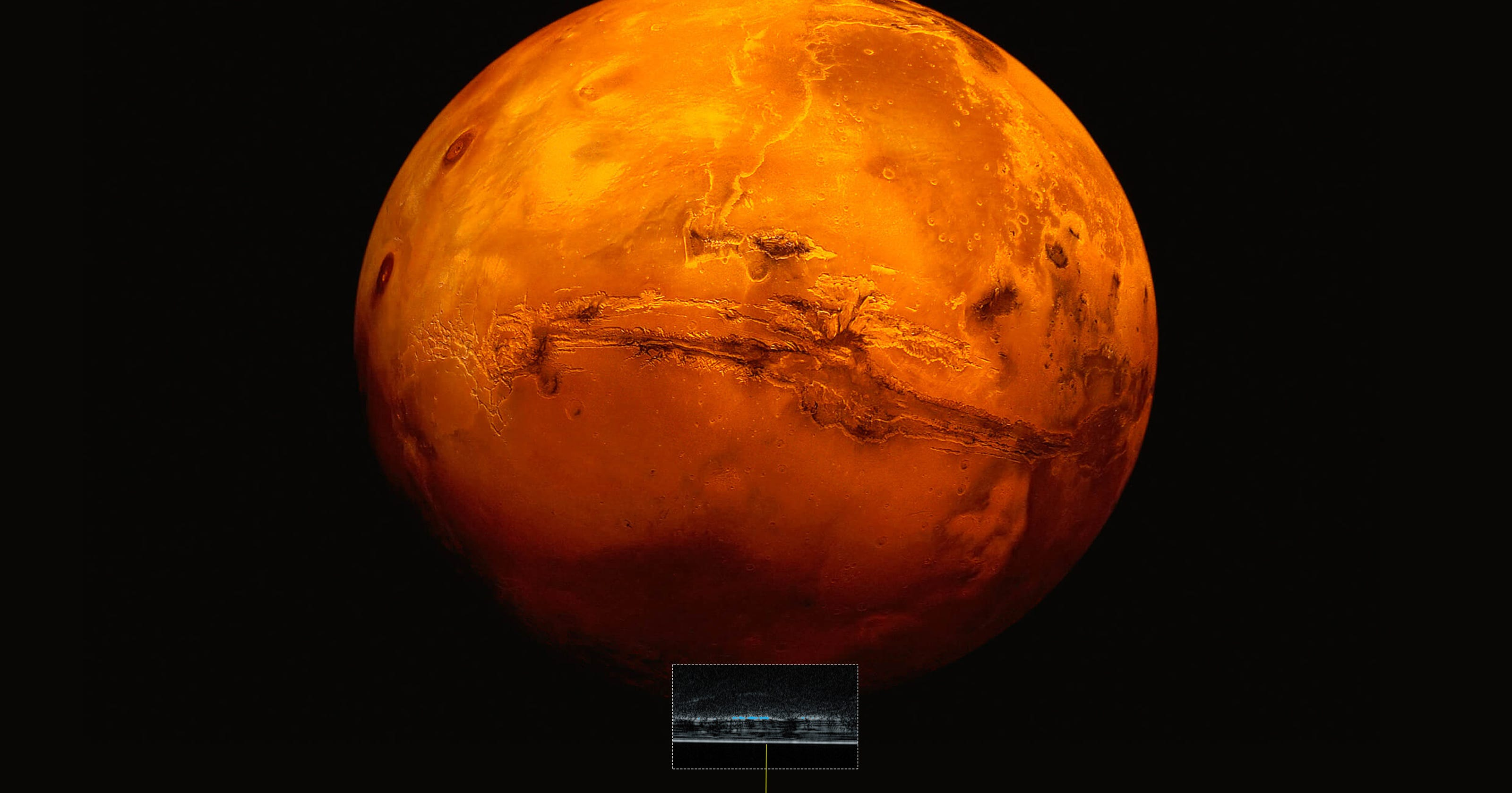Water Detected On Mars Raising The Possibility Of Finding Life Red Planet
