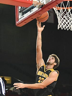 NKU's Cole Murray scored 26 points in Saturday's win over SE Missouri St.