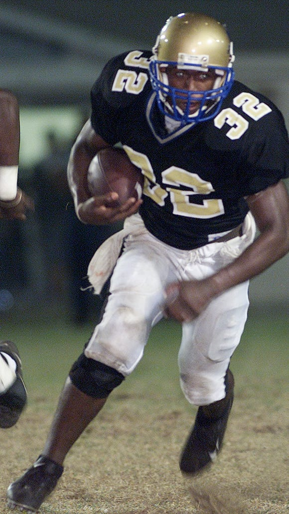 Kolby Smith was an All-Big Bend player at Rickards, and later played at Louisville and four years in the NFL.