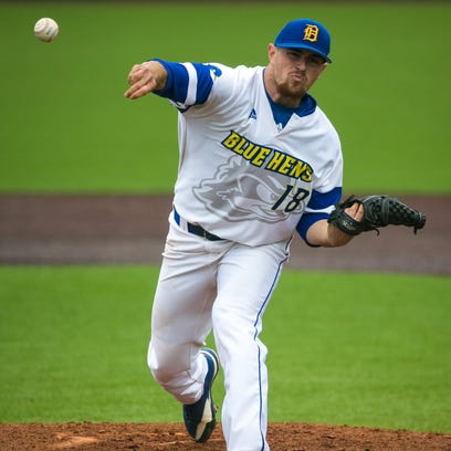 Delaware tops Northeastern 5-3 in CAA baseball tourney keyed by Ake homer, strong pitching
