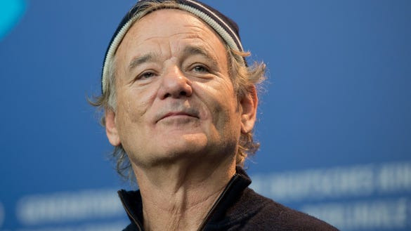 EPA GERMANY BILL MURRAY BIRTHDAY HUM PEOPLE DEU BE