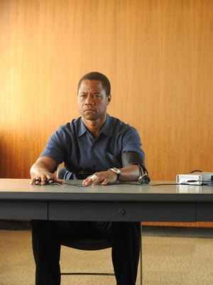 O.J. Simpson (Cuba Gooding Jr.) undergoes a lie-detector test in FX's 'American Crime Story.'