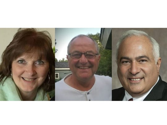 Democrat Nancy Stencil, left, Independent Michael Tauschek and Republican John Spiros ran to represent Assembly District 86.