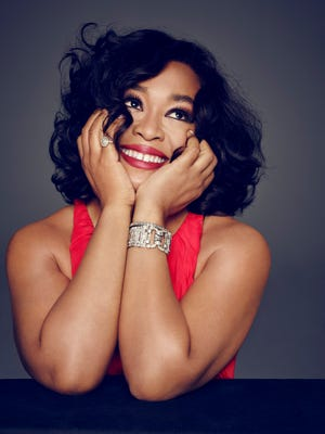 """I am very adamant about this -- it takes three people three hours to make me look like that,"" says Shonda Rhimes of her new glam look."