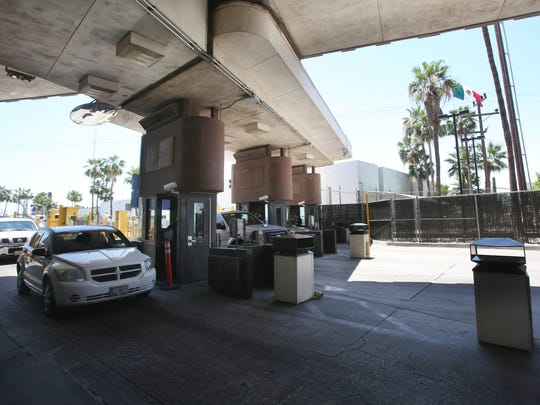 The Calexico port of entry contains 10 available entry lanes. Calexico is the third most used port of entry in the United States after San Ysidro, Calif., and El Paso, Texas, and processes 4 million vehicles and 4.1 million pedestrians per year.