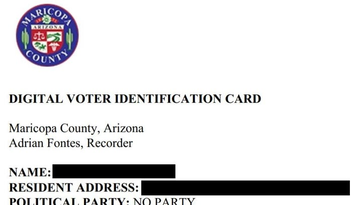 140,000 Maricopa County voters haven't received registration cards