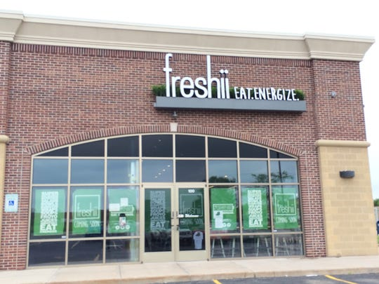 Freshii is a new cafe opening Monday at N162 Eisenhower