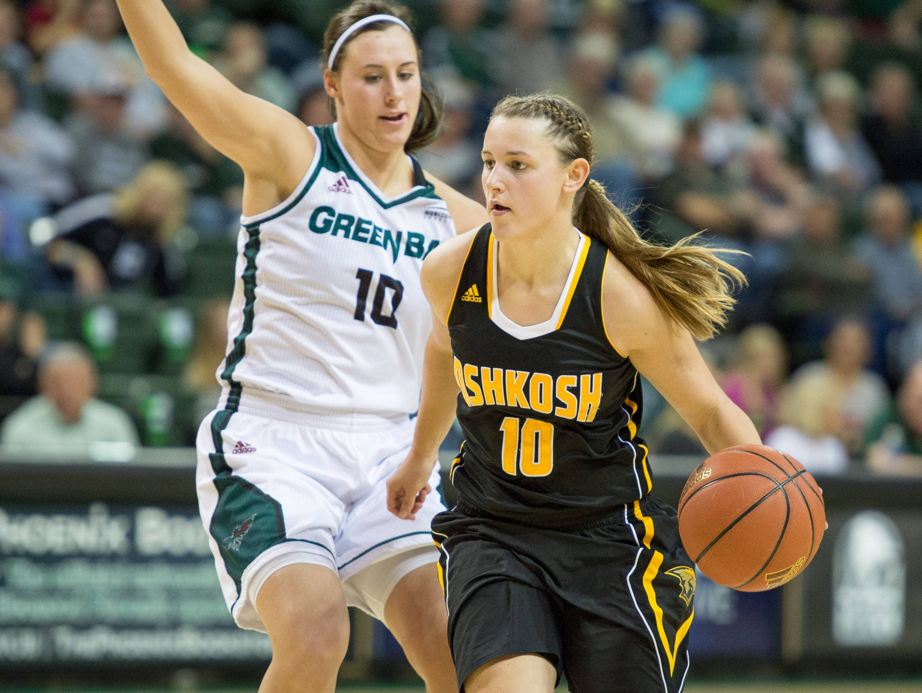 Algoma native Taylor Schmidt is averaging 11.1 points per game for the University of Wisconsin-Oshkosh women's basketball team and broke the program's record for career starts last week.