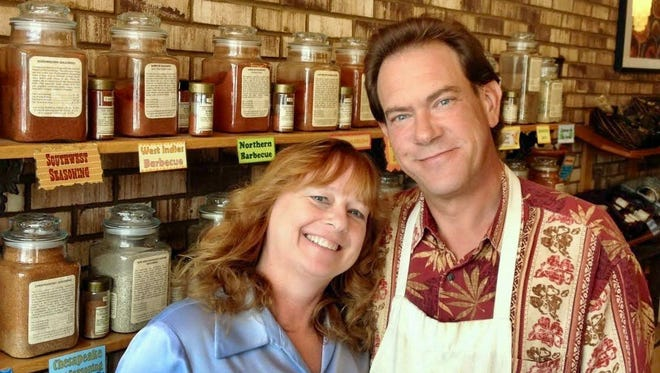 Patty and Tom Erd, owners of the Spice House, offer a dozen vanilla products including Tahitian, Mexican and Madagascar vanilla beans and extracts.