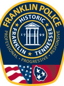 Franklin Police Department Patch