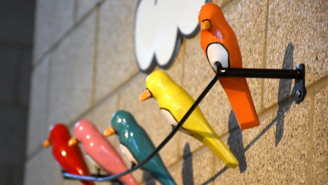 "Iggy Sumnik's ""Birds on a Wire."""