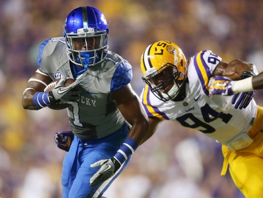 NCAA Football: Kentucky at Louisiana State