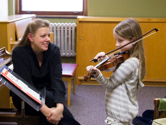 Sarah Dahl-Violin Teacher at St. Francis Music Center with her student Gabri.jpg