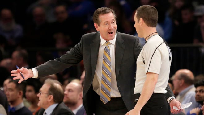 Jeff Hornacek and the Knicks lost a game last week on a questionable call that is sure to linger for the head coach.