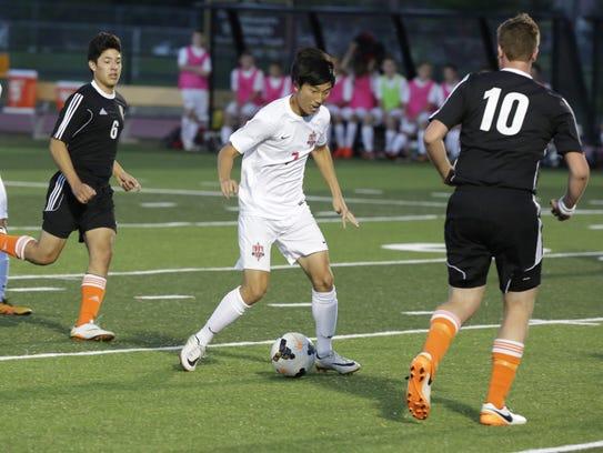Paul Lee is the leading goal scorer or the Lourdes