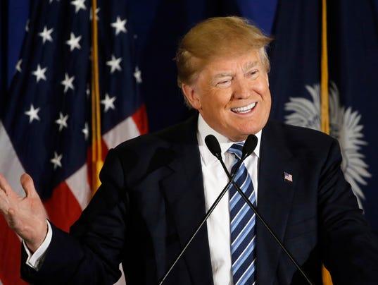 AP GOP 2016 TRUMP A ELN USA SC