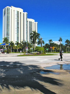 Oasis Condominiums, downtown Fort Myers.