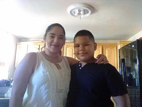 Odalys Cordero and her brother, Alexander Deyá, came