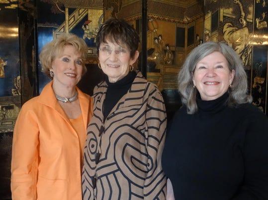 Diane Cage, Carole Kilpatrick, Georgiann Potts