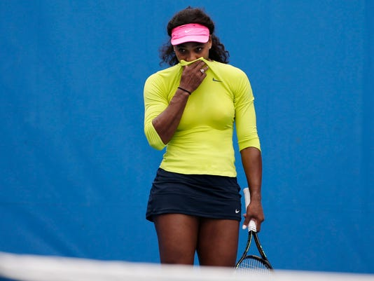 While we slept: Serena coughing