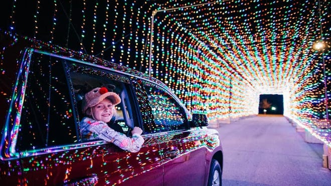 Gillette Stadium and FunGuys Events will host Magic Lights at Gillette Stadium, starting Nov. 13 and running through Jan. 2.